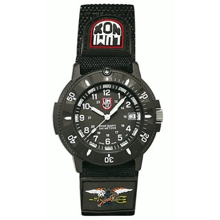 Luminox Men's 'Navy Seal Faststrap 3901' Black Watch