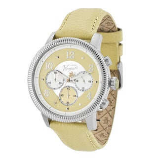 Original Penguin Men's 'Dino' Beige Chronograph Watch
