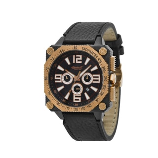 Ingersoll Men's 'Bison No. 20' Automatic Rose Goldtone/ Black Watch