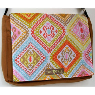 Handmade Medium Geometric Sante Fe Messenger Bag