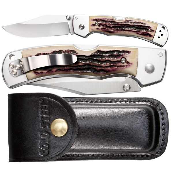 Cold Steel Mackinac Hunter Thumb Stud And Sheath 54FBTSL Knife