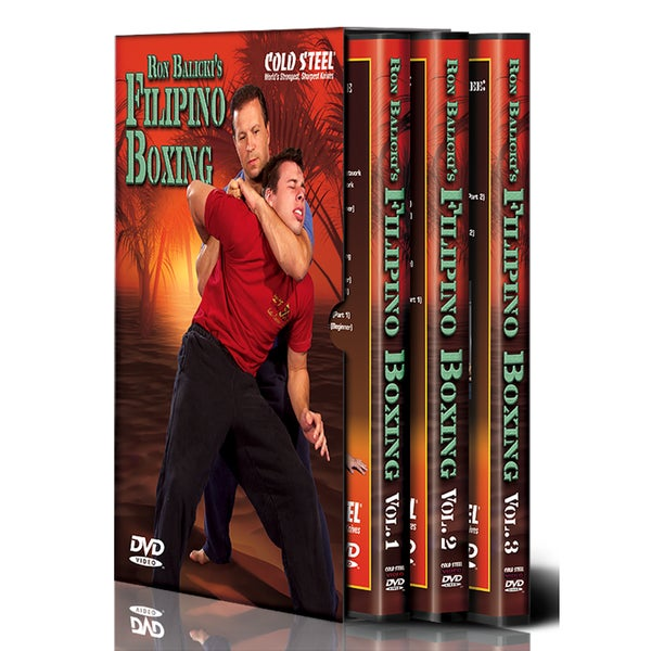 Cold Steel Ron Balicki Boxing DVD Set