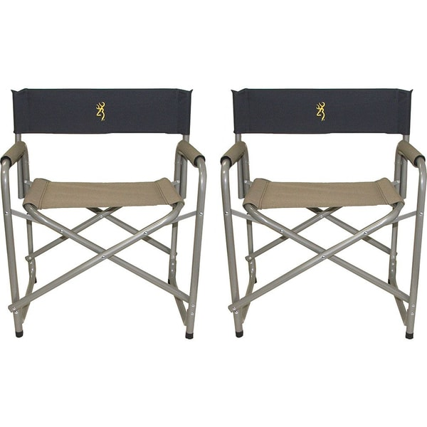 Browning 2 Pack Director's Chairs