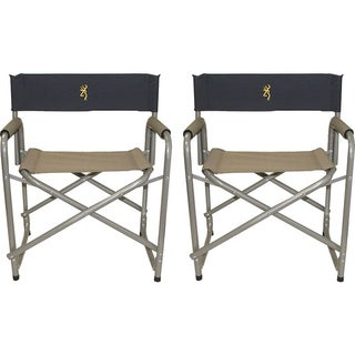 Browning 2 Pack Director&#39;s Chairs