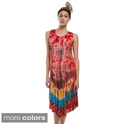 Palm Trees Summer Raynon Sundress (India)