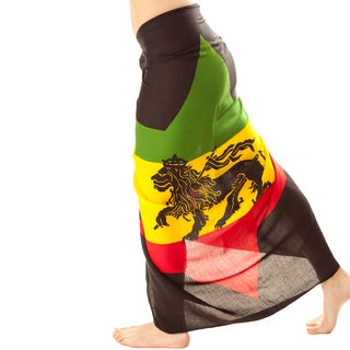 Jah Lion Rasta Sarong With Buckle (Indonesia)