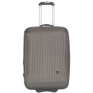 Lotus Oneonta 20-inch Grey Carry On Upright Suitcase