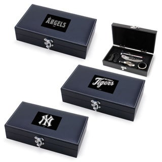 MLB American League Syrah 5-piece Wine Accessories Boxed Set