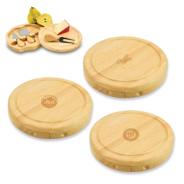 MLB National League Brie Cheese Board Set