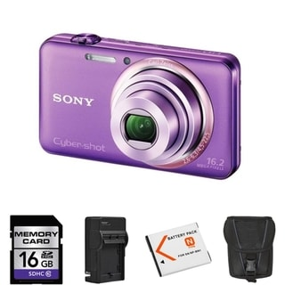 Sony Cyber-shot DSC-WX70 16.2MP Digital Camera with 16GB Bundle