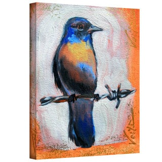 Susi Franco 'Bird on a Wire' Gallery-Wrapped Canvas