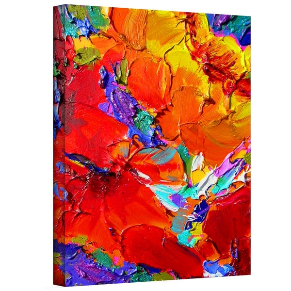 Susi Franco 'Charlits Floral' Gallery-Wrapped Canvas
