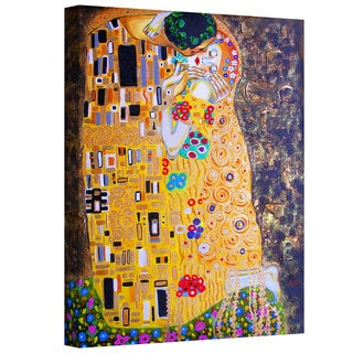Susi Franco 'My Klimt Kiss' Gallery-Wrapped Canvas
