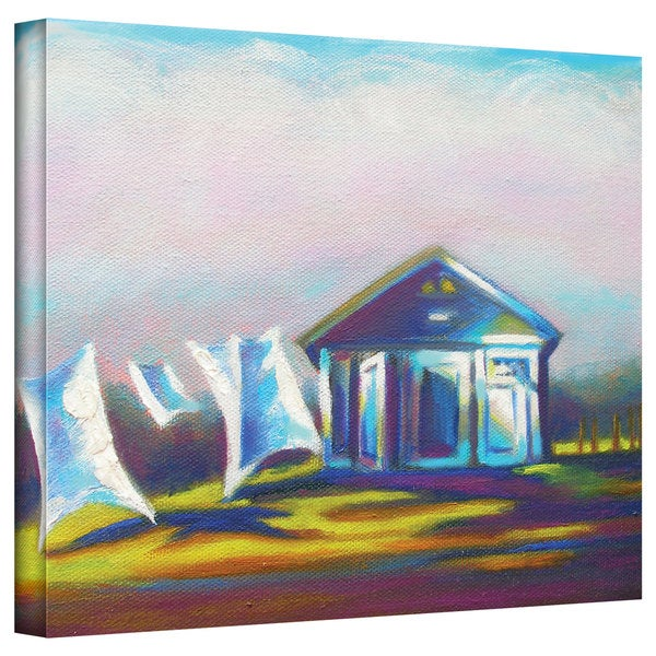 Susi Franco 'March Laundry' Gallery-Wrapped Canvas