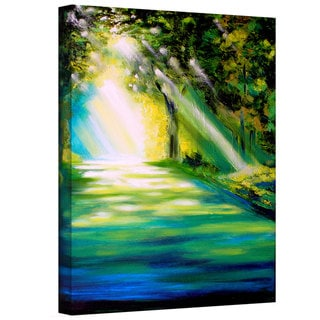 Susi Franco 'Misty Morning' Gallery-Wrapped Canvas