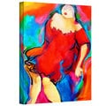 Susi Franco 'Round Girls' Gallery-Wrapped Canvas