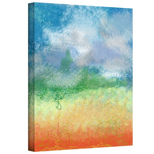 Jan Weiss 'Big Sky Calm' Gallery-Wrapped Canvas