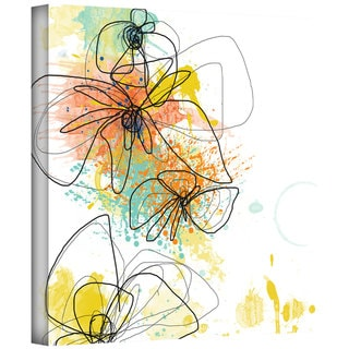 Jan Weiss 'Orange Botanica' Gallery-Wrapped Canvas