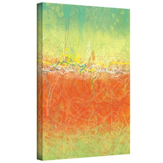 Jan Weiss 'Textured Earth' Gallery-Wrapped Canvas