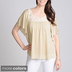 Grace Elements Women's Fashion Knit Top