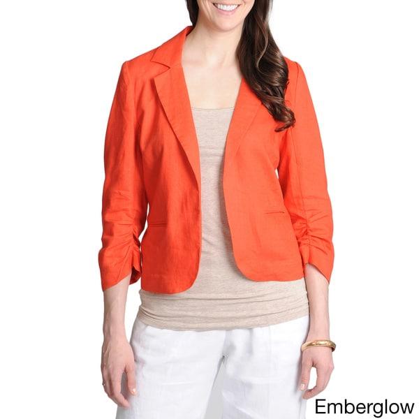 Grace Elements Women's Linen Blazer
