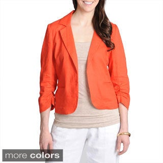 Grace Elements Women's Linen Blazer