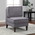Chaumont Grey French Slipper Chair