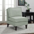 Chaumont Mystic Sea French Slipper Chair