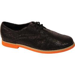 Women's Nomad Links Black Crocodile