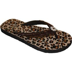 Women's Nomad Twinkle Brown Leopard