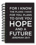 Words 2 Live By: Jeremiah 29:11: 96 Ruled Full Color Pages (Notebook / blank book)