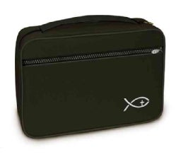 Deluxe Bible Cover Black Xxlarge (Novelty book)