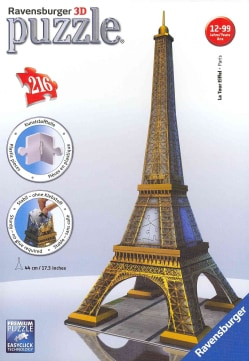 Eiffel Tower: 216 Piece 3d (General merchandise)
