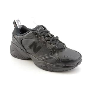 New Balance Women's Black 'WX626' Leather Athletic Shoe