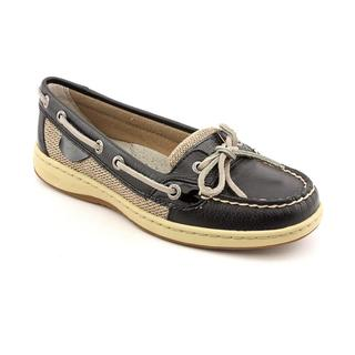 Sperry Top Sider Women's 'Angelfish' Black Leather Casual Shoes