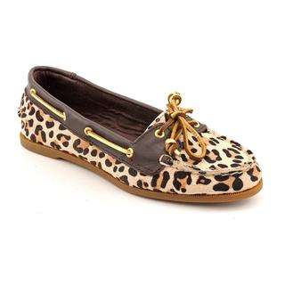 Sperry Top Sider Women's Beige 'Audrey' Hair Calf Casual Shoes