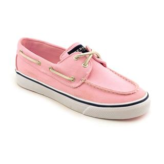 Sperry Top Sider Women's 'Bahama 2-Eye' Pink Basic Textile Casual Shoes