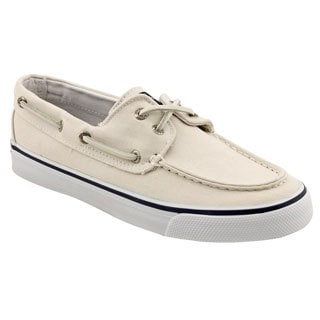 Sperry Top Sider Women's 'Bahama 2-Eye' Ivory Basic Textile Casual Shoes