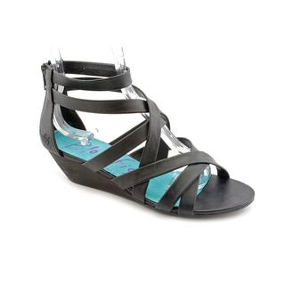 Blowfish Women's 'Conchita' Black Faux Leather Sandals