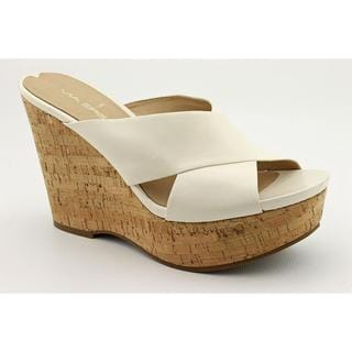 Via Spiga Women's 'Elle' Ivory Leather Sandals