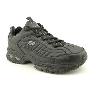 Skechers Sport Men's 'Energy-After Burn' Leather Athletic Shoe (Size 7 )