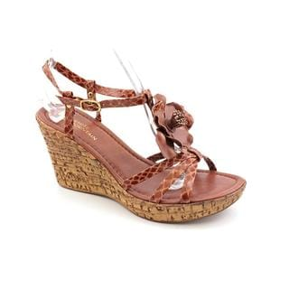 White Mountain Women's 'Festive' Faux Leather Sandals