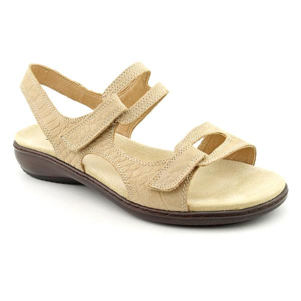 Trotters Women's 'Katarina' Leather Sandals - Extra Wide (Size 11 )