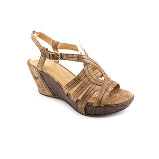 Naturalizer Women's 'Naza' Synthetic Sandals - Wide (Size  9.5 )