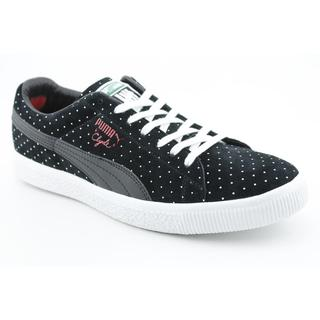 Puma Men's 'Clyde X Undftd Micro-Dot' Regular Suede Casual Shoes (Size  12 )