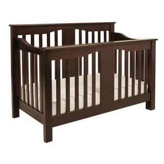 DaVinci Annabelle 4-in-1 Espresso Convertible Crib with Toddler Rail
