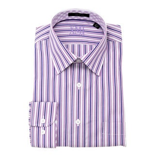 XMI Platinum Men's Lavender Dress Shirt