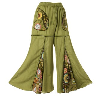Cotton Bell-Bottom Pants (Nepal)