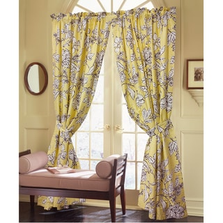 Coute Couture Shelton Cotton 86-inch Curtain Panel Pair