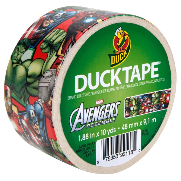 Shurtech Duct Tape 10 Yard Avengers Roll